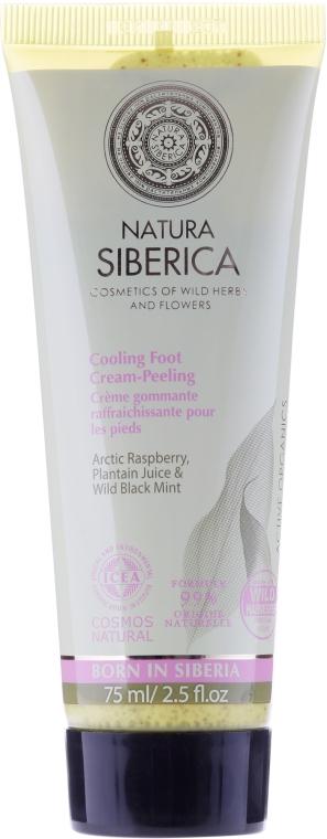 Creme-Peeling für die Füße mit arktischer Himbeere, Wegerichsaft und wilder Schwarzminze - Natura Siberica — Bild N2
