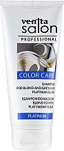Düfte, Parfümerie und Kosmetik Shampoo für blondes und graues Haar - Venita Salon Professional Platinum Shampoo