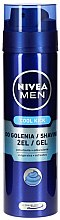 "Düfte, Parfümerie und Kosmetik Rasiergel ""Cool Kick"" - Nivea For Men Fresh Active Shaving Gel"