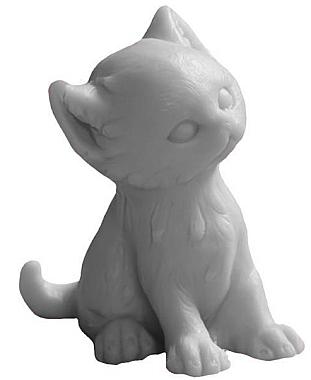 Handgemachte Naturseife Katze mit Ananasduft - LaQ Happy Soaps Natural Soap — Bild N1