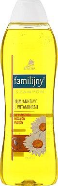 Aloe und Diptam Shampoo für normales Haar - Pollena Savona Familijny Camomile & Vitamins Shampoo — Bild N1