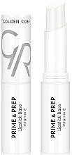 Düfte, Parfümerie und Kosmetik Lippenbase - Golden Rose Prime & Prep Lipstick Base