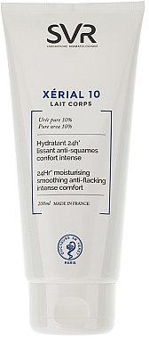 Körpermilch mit Harnstoff für sehr trockene und schuppige Haut - SVR Xerial 10 Lait Corps  — Bild N1