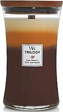 Düfte, Parfümerie und Kosmetik Duftkerze im Glas Cafe Sweets - Woodwick Trilogy Candle Large Cafe Sweets
