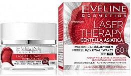 Düfte, Parfümerie und Kosmetik Regenerierende Gesichtscreme gegen Falten 60+ - Eveline Cosmetics Laser Therapy Centella Asiatica 60+