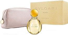 Düfte, Parfümerie und Kosmetik Bvlgari Goldea - Duftset (Eau de Parfum/90ml + Kosmetiktasche)