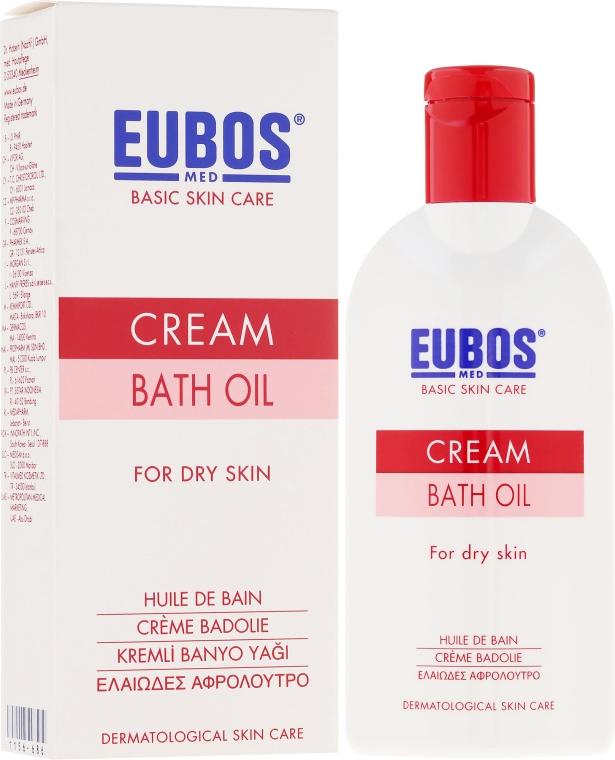Badeöl für trockene Haut - Eubos Med Basic Skin Care Cream Bath Oil For Dry Skin — Bild N1