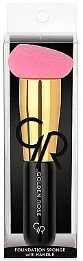 Make-up Schwamm-Pinsel - Golden Rose Foundation Brush With Sponge — Bild N1