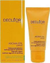 Düfte, Parfümerie und Kosmetik Beruhigende Creme nach der Enthaarung - Decleor Aroma Epil Expert Post-Wax Cream