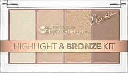 Düfte, Parfümerie und Kosmetik Highlighter- und Bronzer-Palette - Bell HYPOAllergenic Highlight & Bronze Kit by Marcelina
