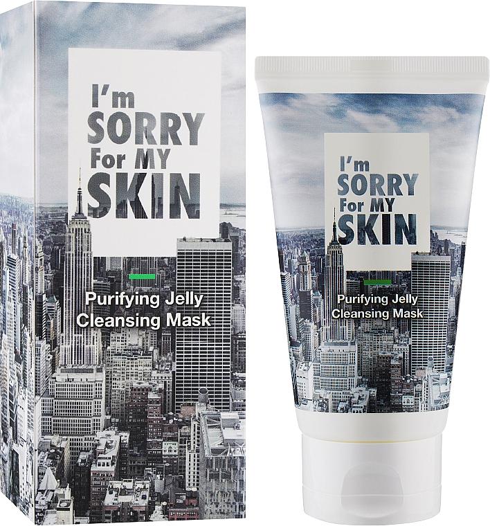 Reinigende Gelee-Maske für das Gesicht - Ultru I'm Sorry For My Skin Purifying Cleansing Jelly Mask — Bild N1