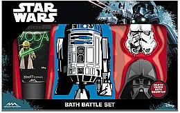 Düfte, Parfümerie und Kosmetik Set - EP Line Star Wars Bath Battle Set (sh/gel/30ml + b/spong + toy)