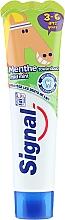 Düfte, Parfümerie und Kosmetik Kinderzahnpasta 3-6 Jahre mit mildem Minzgeschmack - Signal Signal Kids Mint Toothpaste