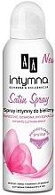 Düfte, Parfümerie und Kosmetik Spray für die Intimhygiene - AA Intymna Satin Spray