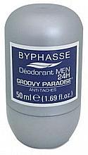 Düfte, Parfümerie und Kosmetik Deo Roll-on Antitranspirant - Byphasse 24h Men Deodorant Groovy Paradise