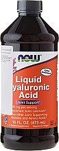 Düfte, Parfümerie und Kosmetik Nahrungsergänzungsmittel Flüssige Hyaluronsäure für die Gelenke - Now Foods Liquid Hyaluronic Acid