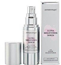Düfte, Parfümerie und Kosmetik Aufhellendes Gesichtsserum Gerstenextrakt und Hyaluronsäure - Antispotique Ultra Brightening Serum