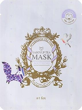 Beruhigende Gesichtsmaske mit Jasoyup-Tee - A:t fox Soothing Jasoyup Tea Mask — Bild N1