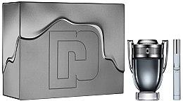 Düfte, Parfümerie und Kosmetik Paco Rabanne Invictus Intense - Duftset (Eau de Toilette 100ml + Eau de Toilette Mini 10ml)
