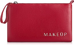 Düfte, Parfümerie und Kosmetik Kosmetiktasche rot 21x12,5 cm - MakeUp