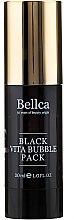 Düfte, Parfümerie und Kosmetik Gel-Gesichtsmaske mit Aktivkohle und Panthenol - Bellca Black Vita Bubble Pack