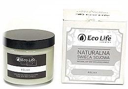 Düfte, Parfümerie und Kosmetik Soja-Duftkerze Relax - Eco Life Soy Wax Candles