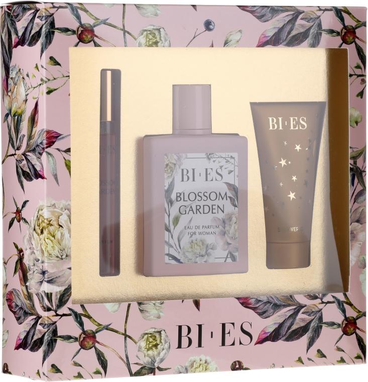 Bi-es Blossom Garden - Duftset (Eau de Parfum 100ml + Duschgel 50ml + Eau de Parfum 12ml) — Bild N1