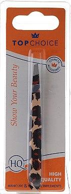 Pinzette 75957 schräg schwarz-beige - Top Choice Tweezers Slant Anima — Bild N1