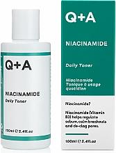 Düfte, Parfümerie und Kosmetik Feuchtigkeitsspendender Gesichtstoner mit Niacinamid - Q+A Niacinamide Daily Toner