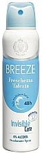 Düfte, Parfümerie und Kosmetik Breeze Deo Freschezza Talcata - Deospray