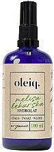 Düfte, Parfümerie und Kosmetik Zitronenmelisse-Hydrolat für Gesicht, Körper und Haar - Oleiq Hydrolat Melissa