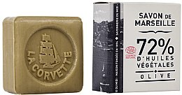 Düfte, Parfümerie und Kosmetik Hypoallergene Naturseife Olive - La Corvette Savon de Marseille Olive Soap