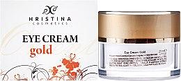Düfte, Parfümerie und Kosmetik Augenkonturcreme - Hristina Cosmetics Orient Gold Eye Cream