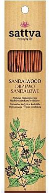 Räucherstäbchen Sandalwood - Sattva Sandalwood Incense Sticks — Bild N1