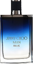 Jimmy Choo Man Blue - Duftset (Eau de Toilette/100ml + After Shave Balsam/100ml + Mini/7,5ml) — Bild N2