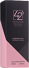 Düfte, Parfümerie und Kosmetik Raumerfrischer Pariser Chic - 42° by Beauty More Parisian Chiv Pink Pepper & Jasmine Luxury Home Diffuser