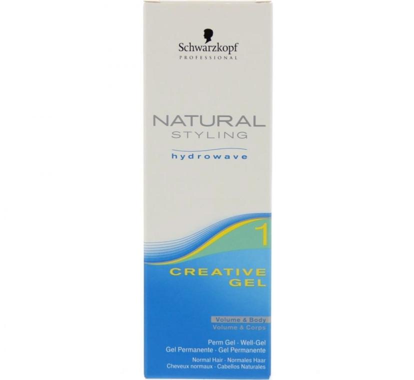 Professionelles Stylinggel für lockiges Haar - Schwarzkopf Professional Natural Styling Creative Gel №1 — Bild N3