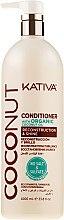 Düfte, Parfümerie und Kosmetik Haarspülung - Kativa Coconut Conditioner