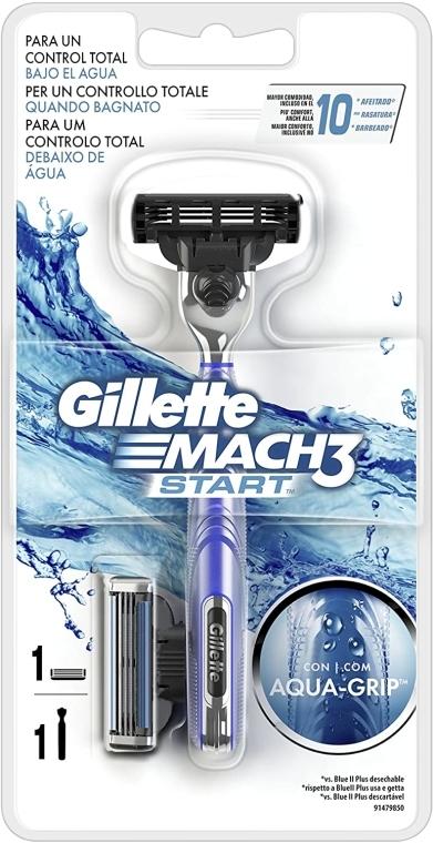 Rasierer mit 1 Rasierklinge - Gillette Mach 3 Start — Bild N1