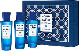 Düfte, Parfümerie und Kosmetik Acqua Di Parma Blu Mediterraneo Arancia Bergamotto Fico Collection Set - Duftset (Eau de Toilette 3x30ml)