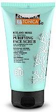 Düfte, Parfümerie und Kosmetik Gesichtspeeling mit Bio Bambus-Extrakt und Islandmoos - Natura Estonica Iceland Moss Face Scrub