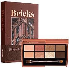 Düfte, Parfümerie und Kosmetik Lidschatten-Palette - Heimish Dailism Eye Palette Brick Brown