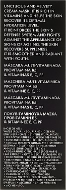 Gescihtsmaske mit Provitamin B5 und Vitaminen E, C, PP - Academie Derm Acte Multivitamin Mask Provitamine B5 & vitamines E,C,PP  — Bild N3