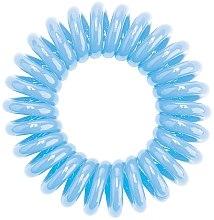 Düfte, Parfümerie und Kosmetik Spiral-Haargummi hellblau - HH Simonsen Hair Cuddles Light Blue