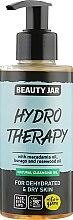 Düfte, Parfümerie und Kosmetik Gesichtsreinigungsöl für trockene Haut mit Macadamiaöl - Beauty Jar Natural Cleansing Oil