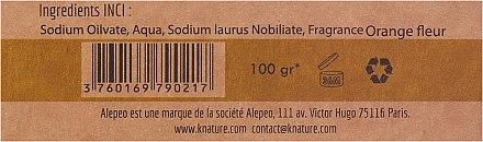Parfümierte Aleppo-Körperseife - Alepeo Orange Flower — Bild N3