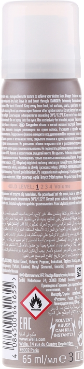 Trockenshampoo für alle Haartypen - Wella Professionals EIMI Dry Me Shampoo — Bild N2