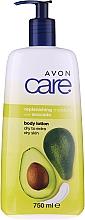 Düfte, Parfümerie und Kosmetik Feuchtigkeitsspendende Körperlotion mit Avocadoöl - Avon Care Body Lotion With Avocado