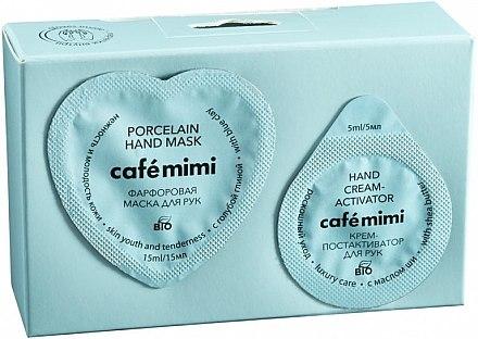 Handpflege Porcelain - Le Cafe de Beaute Cafe Mimi Porcelain (Handmaske 15ml + Handcreme 5ml) — Bild N1