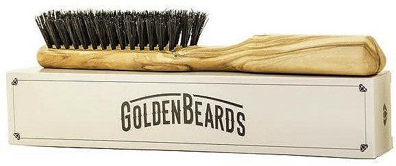 Bartbürste 20 cm - Golden Beards Beard Brush — Bild N3